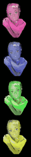 World of female avatars