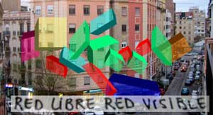 Red libre red visible