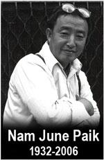 Nam June Paik (1932 - 2006)